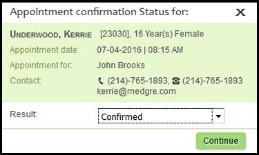MedGre Appointment Reminder System